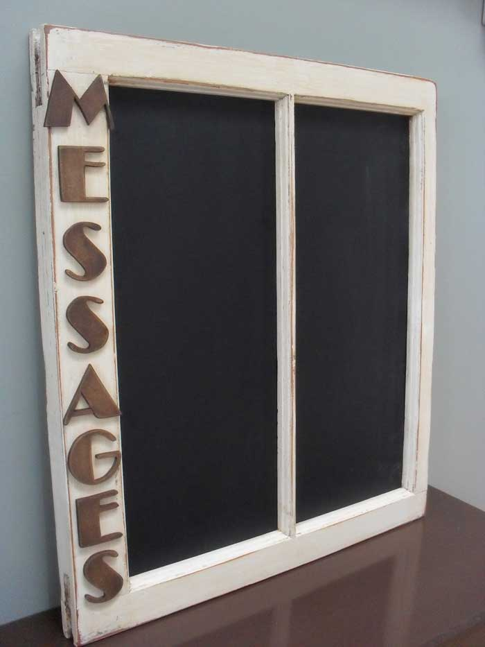 window message board chalkboard