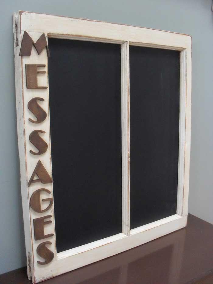 window message board chalkboard