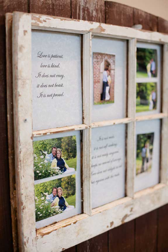 window photo frame wall art