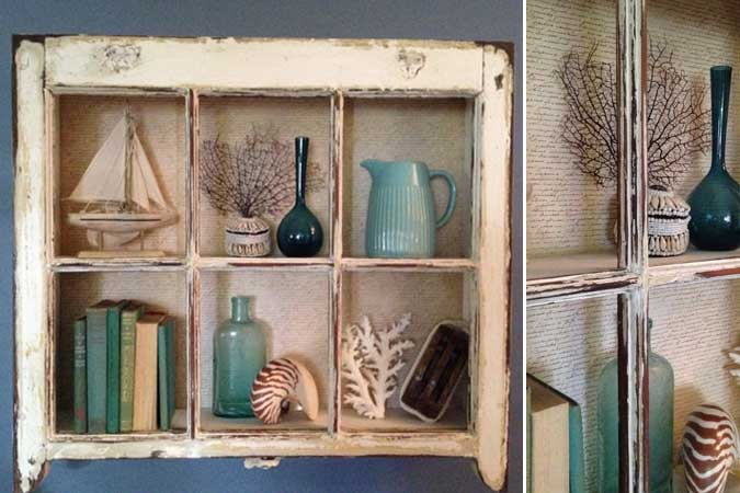 diy window shadow box