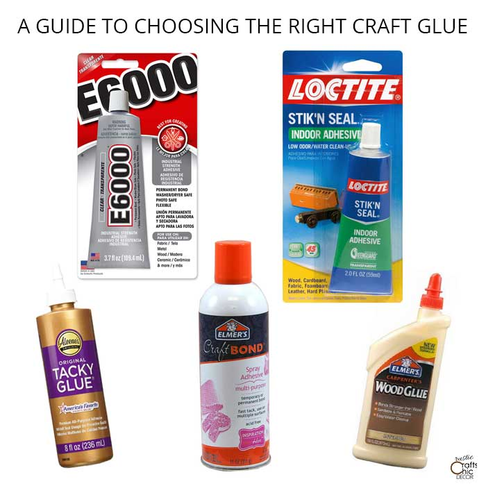 a guide to choosing the right craft glue