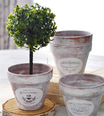 creative uses for flower pots