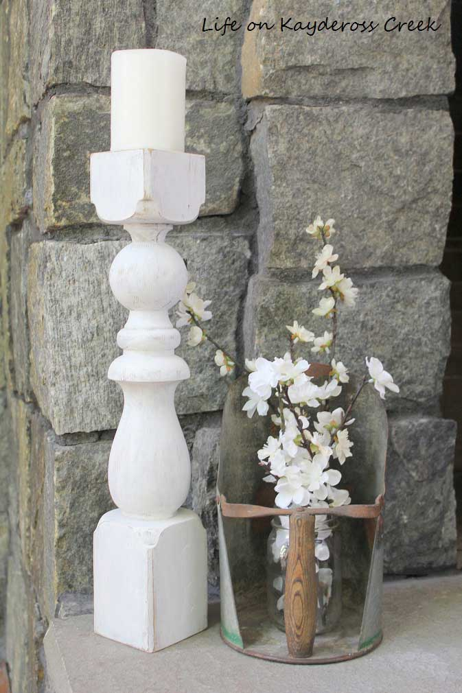 diy candlestick holders