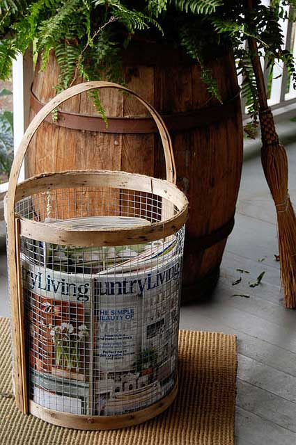 diy country basket