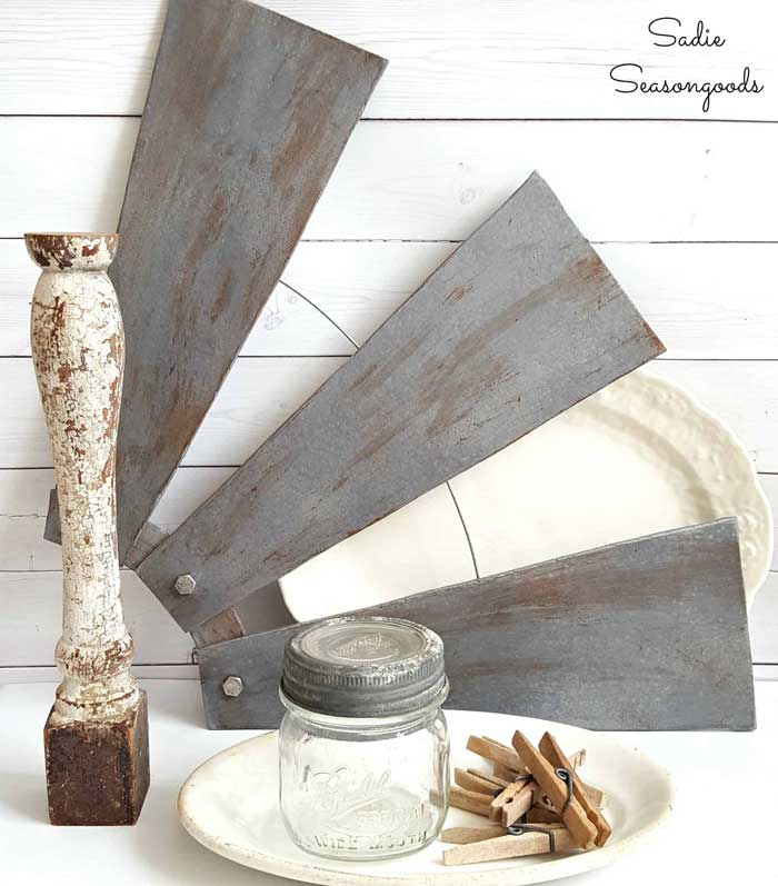 diy farmhouse windmill decor