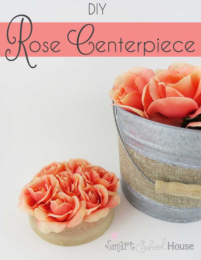 diy rose centerpieces