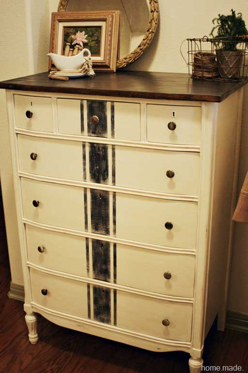 grainsack dresser makeover