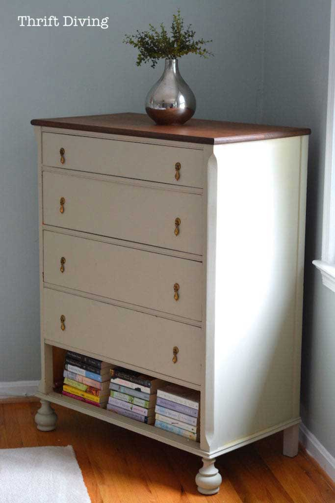 thrift store dresser makeover idea