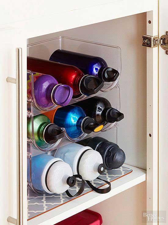 wine rack water bottle holder
