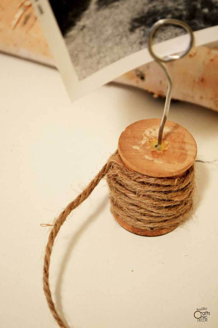 wooden spool craft