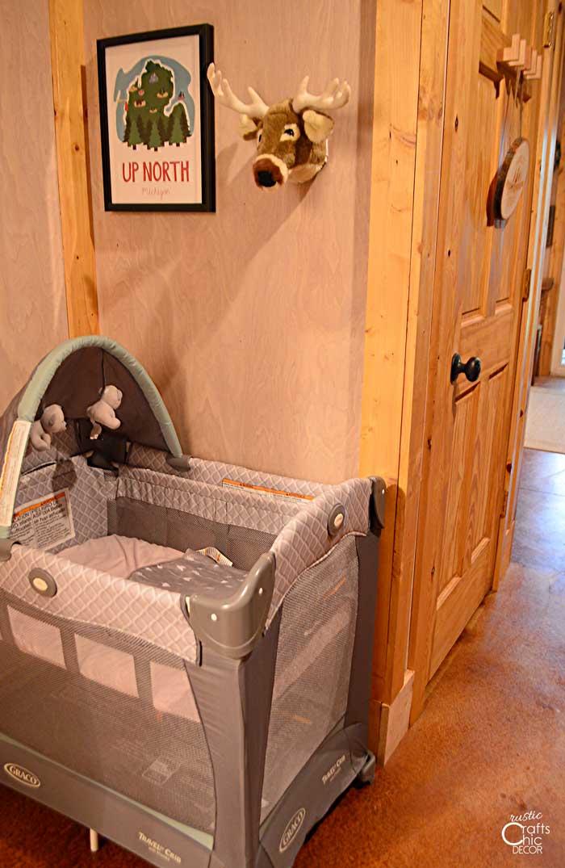 cabin interior - baby area