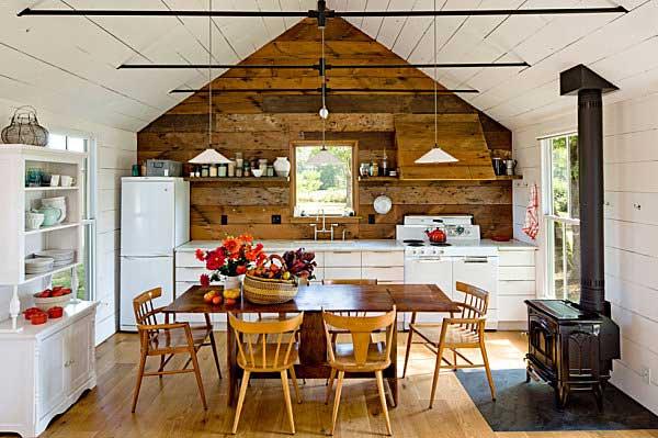 colorsplashed cabin interior