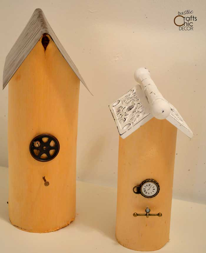 DIY birdhouse ideas
