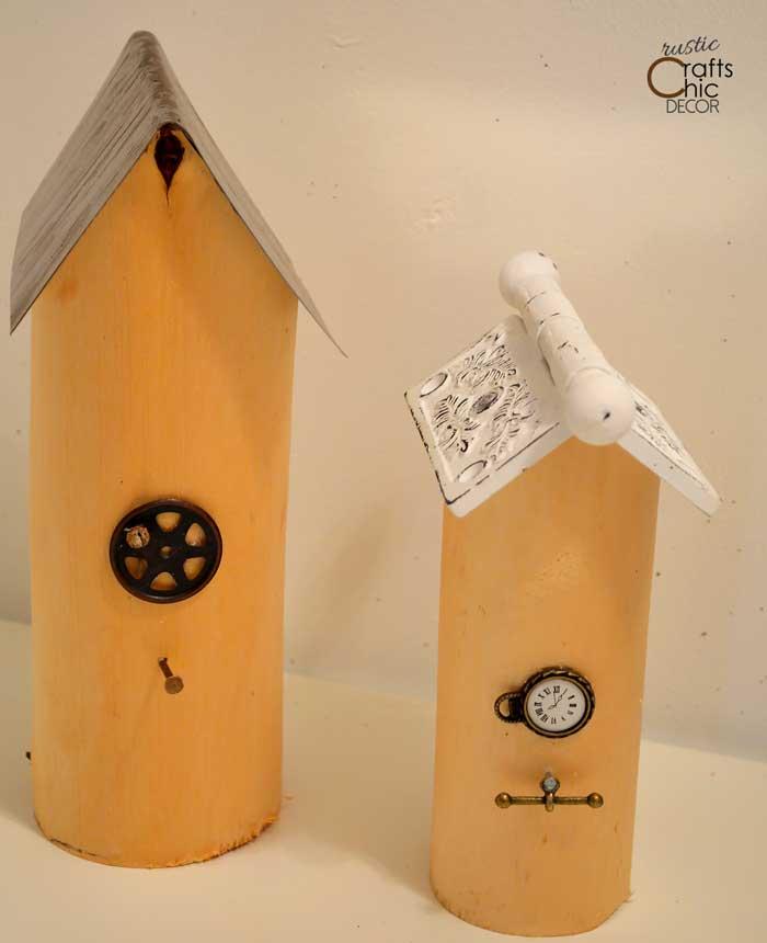 Diy Decorative Bird Houses