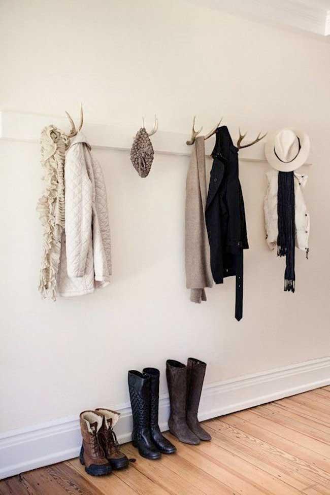 antler hanging rack