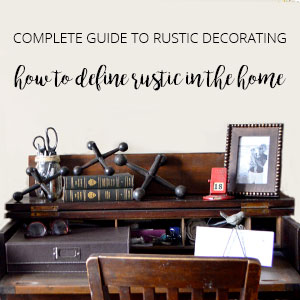 definition of rustic