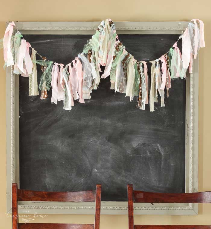 diy rag garland