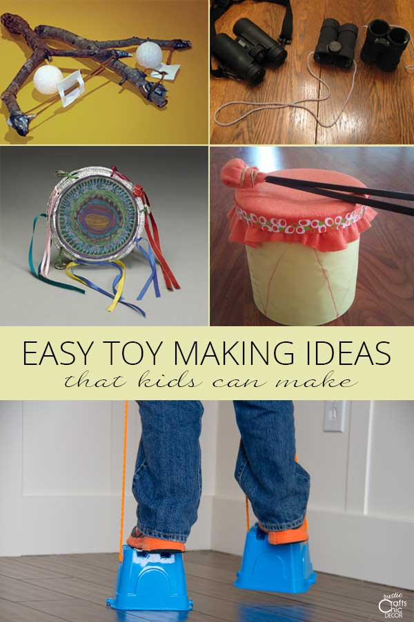 easy toy making ideas