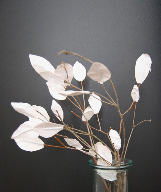 sticks with duct tape leaves