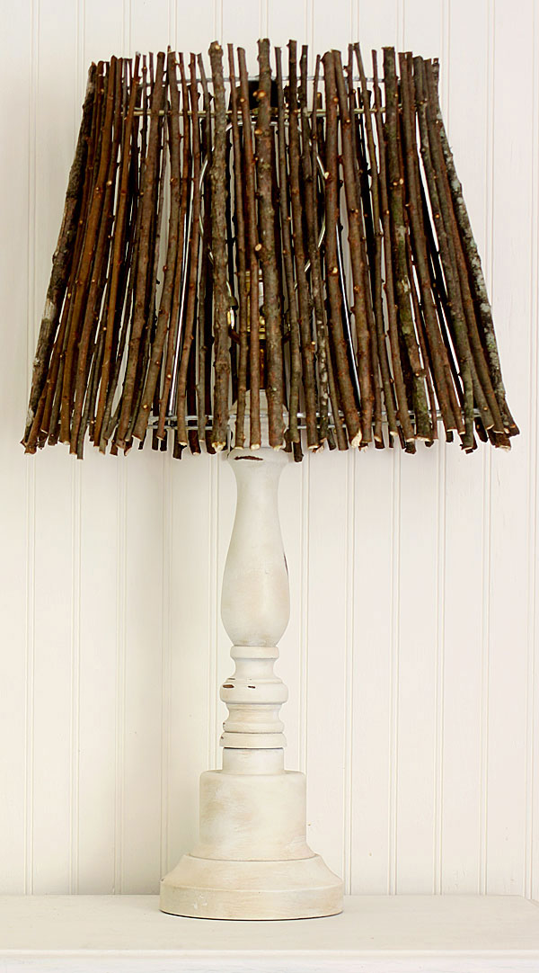 twig lampshade