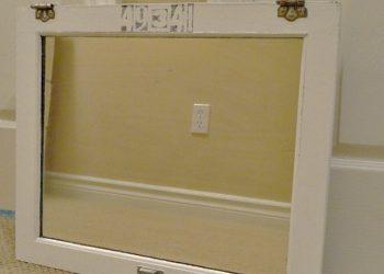 cabinet door upcycle