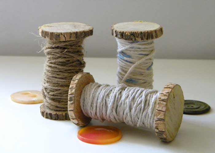 wood spools craft