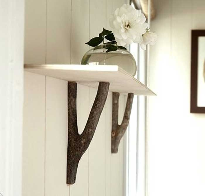 branch shelf brackets
