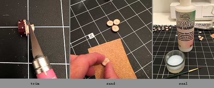 steps to making thumbtacks