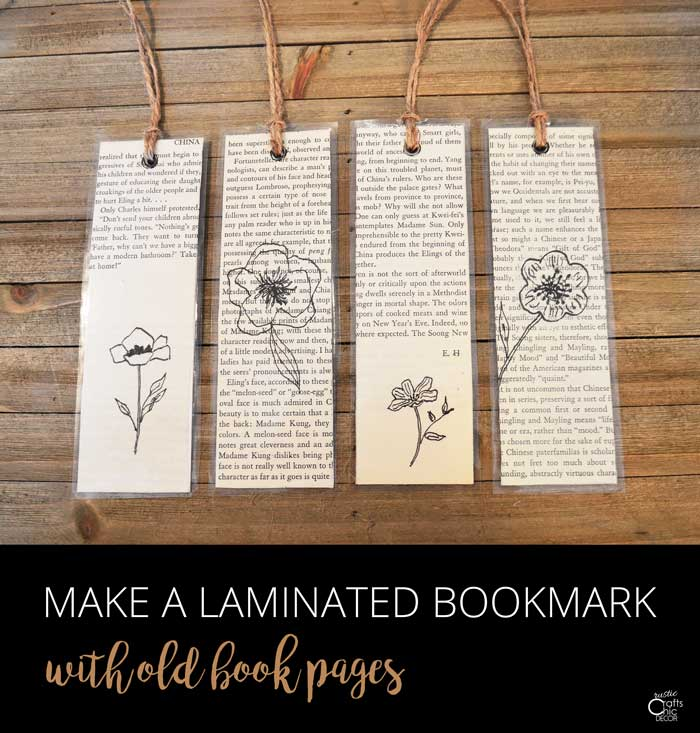 how to create a book mark