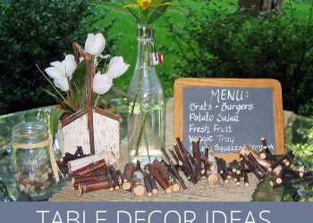 outdoor table decoration ideas