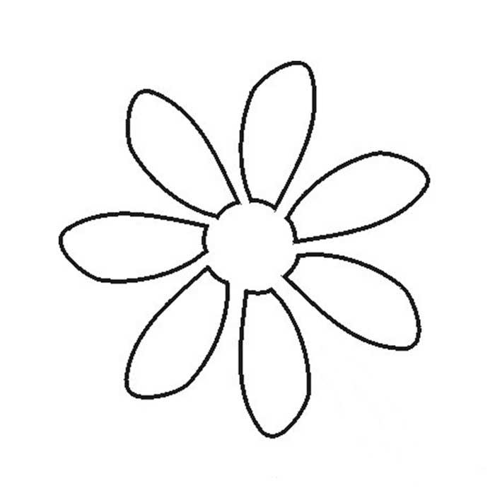 printable daisy template