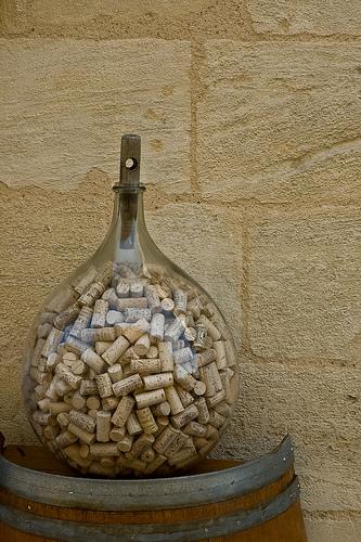 wine cork vase filler