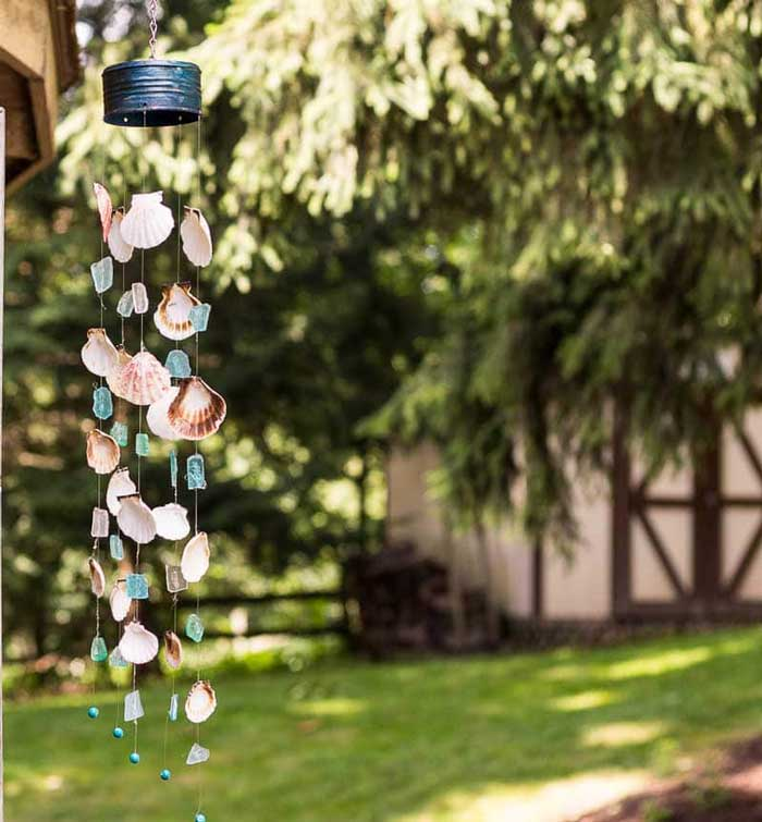 coastal wind chime diy