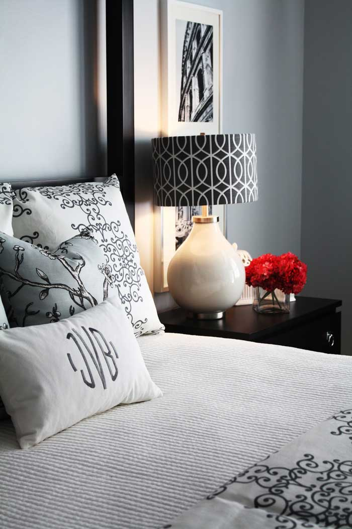 how to decorate a lampshade with fabric