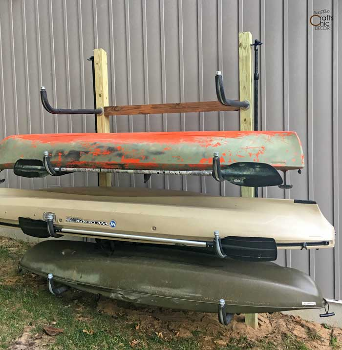 diy kayak rack