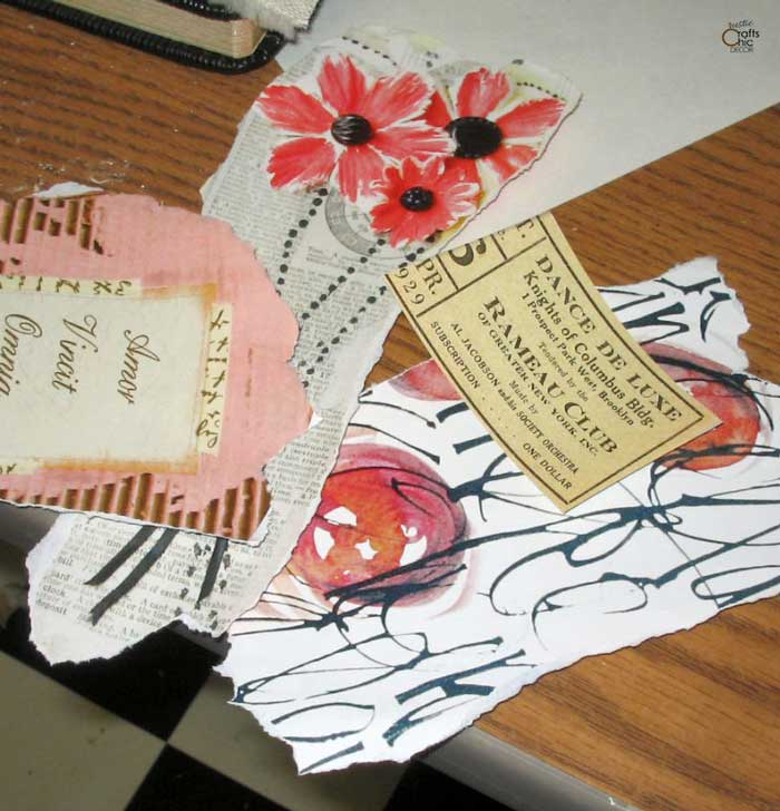 paper scraps for journal