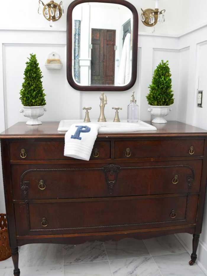 shabby chic dresser vanity