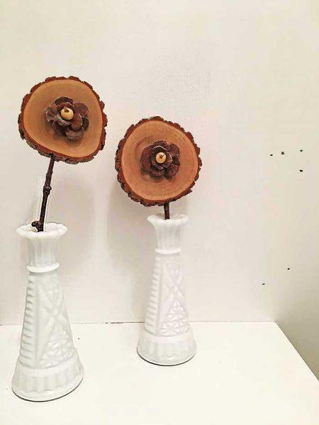 diy rustic flowers