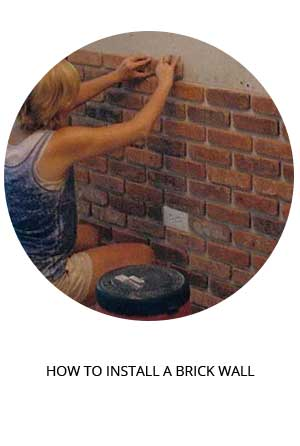 how to install an interior brick wall tutorial