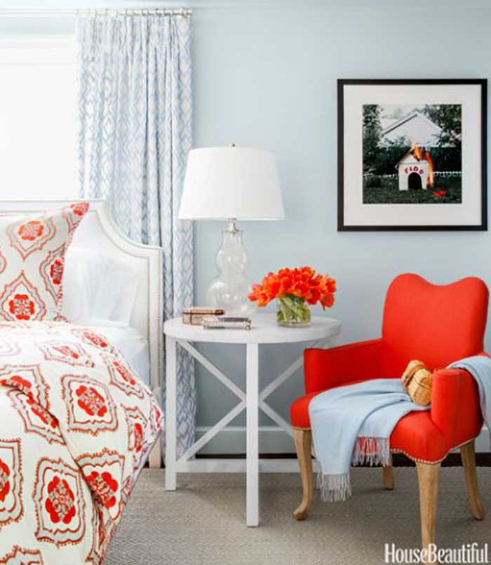 Burnt Orange Accent Wall: Orange Decor Ideas For A Cheerful Space