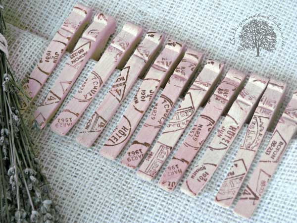 stamped bag clips