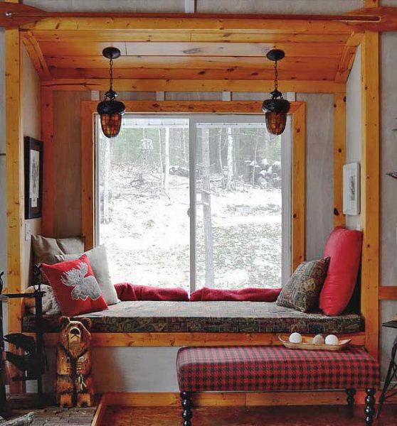 rustic decor table