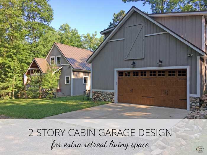 2 story garage
