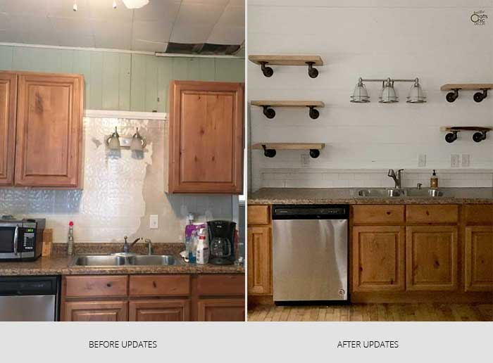 how to update a kitchen