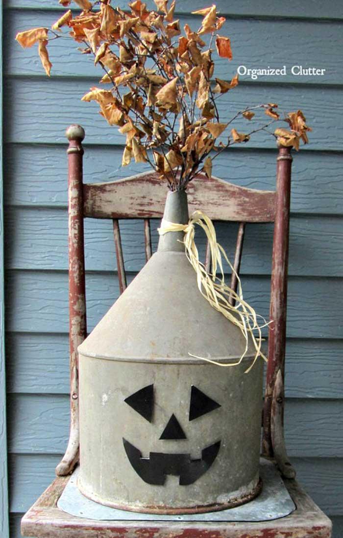 old can jack o lantern