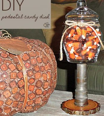 pedestal candy dish