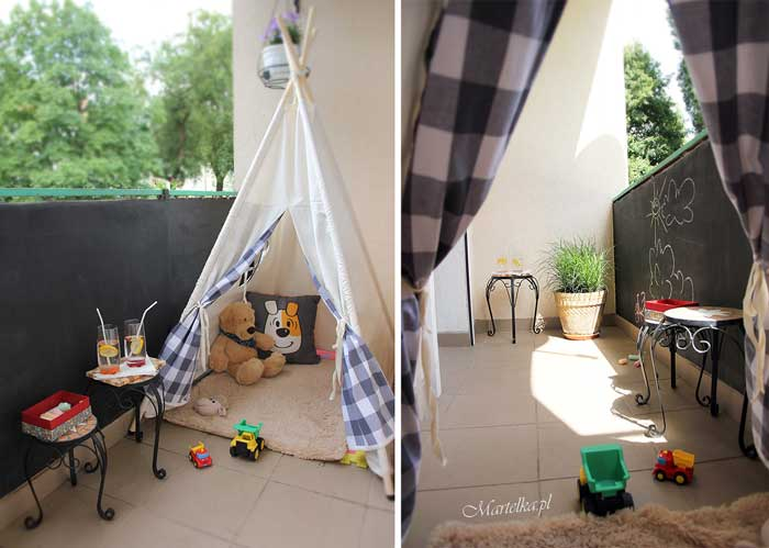 teepee kids playroom idea