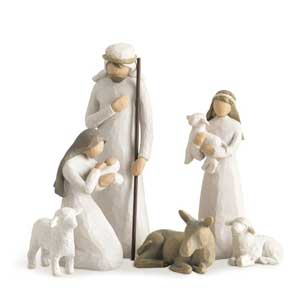 willow tree christmas nativity