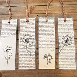 bookpage bookmark craft
