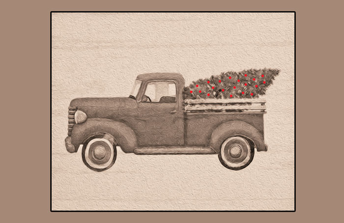 christmas truck neutral